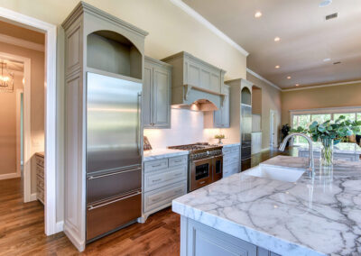 Custom Home Builders Tulsa Enlightened Modern Kitchen 2