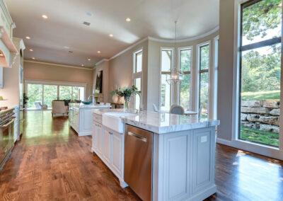 Custom Home Builders Tulsa Enlightened Modern Kitchen 3