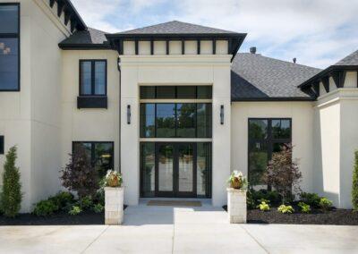 Custom Home Builders Tulsa Vogue Classic Exterior 1