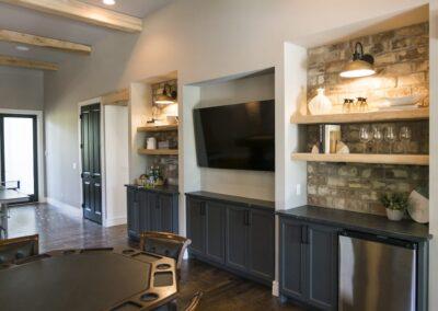 Custom Home Builders Tulsa Vogue Classic Game Room 1