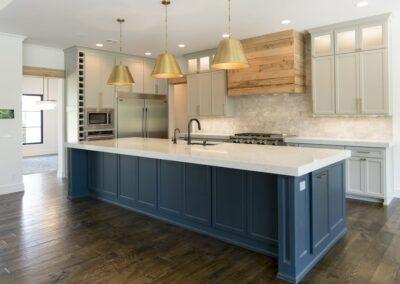 Custom Home Builders Tulsa Vogue Classic Kitchen 1