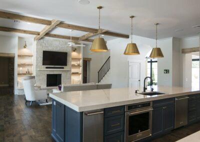 Custom Home Builders Tulsa Vogue Classic Kitchen 2