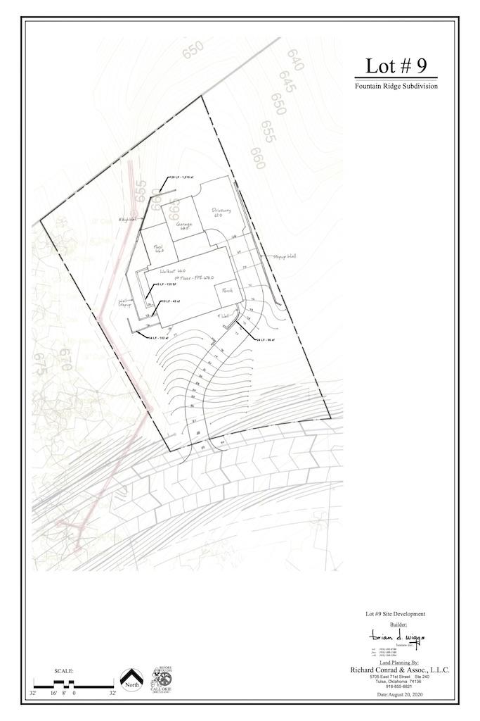 Jenks Home Builders | Concept Plan 1