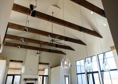 Jenks New Homes Gallery Custom Features Custom Beams And More!