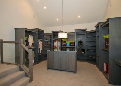 Jenks New Homes Gallery Specialty Rooms 2 Story Closet With Exercise Space 1