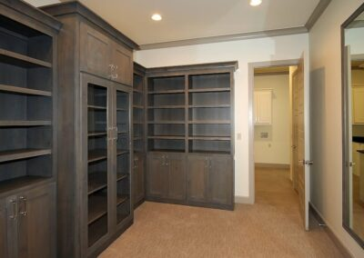 Jenks New Homes Gallery Specialty Rooms 2 Story Closet With Exercise Space 2