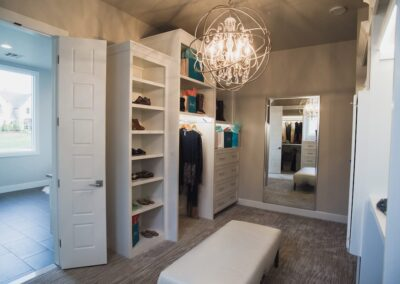 Jenks New Homes Gallery Specialty Rooms Spacious Master Closet